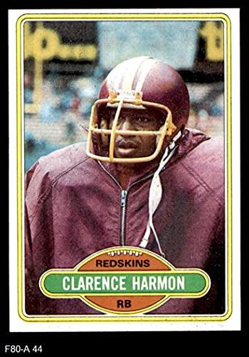 1980 Topps # 44 Clarence Harmon Washington Redskins (Football Card) NM/MT Redskins Miss St