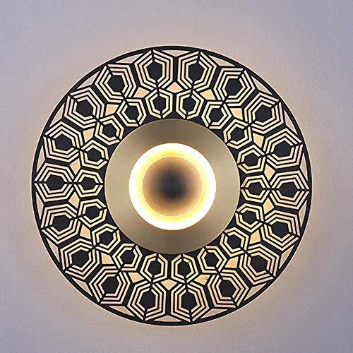 Mkjbd Wandlaterne Gartenlampe Wandleuchte Pendelleuchte Wandleuchte Wandleuchte Led Moderne Lampen Wandleuchte Kupfer Wohnzimmer Lampen Tv Lampen Wandleuchten Warm, MM, Messing