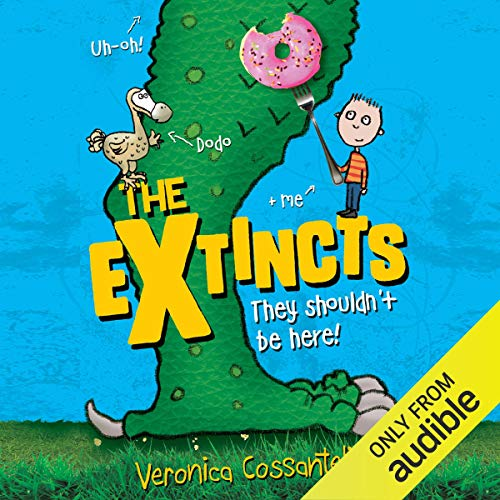 The Extincts audiobook cover art