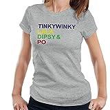 Teletubbies Character List Women's T-Shirt