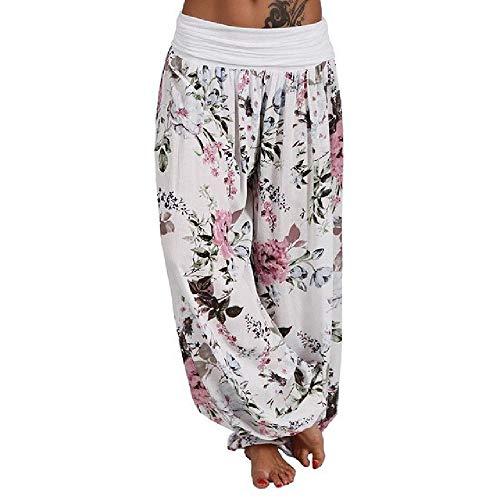 N\P Mujer Pantalones Deportivos Mujer Pantalones para Mujer Pantalones de Pierna Ancho Pantalón de Cintura Alta Pantalones de Chándal Baggy