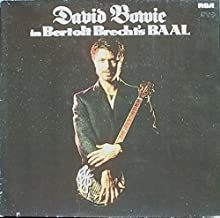 David Bowie in Bertolt Brecht's Baal (5 tracks, foc) / Vinyl Maxi Single [Vinyl 12'']