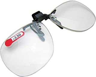 Daiso Japan Optical Clip-On Flip-Up Magnifying Reading
