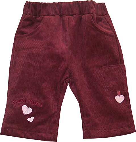 Schnizler Mädchen Cordhose Sweet Kisses mit elastischem Bund Hose, Rot (original 900), 62