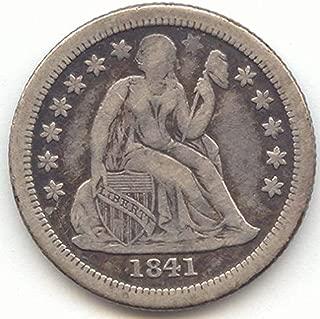 1841 O Seated Liberty Small O Dime Very Fine