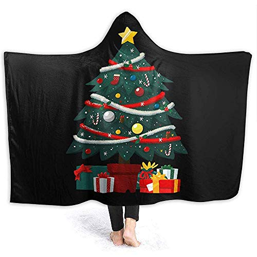 Darlene Ackermann Regalo Debajo árbol Navidad Manta