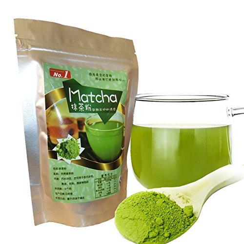 Innovey Matcha poeder groene thee pure bio gecertificeerd natuurlijke premium keuken backing supplies