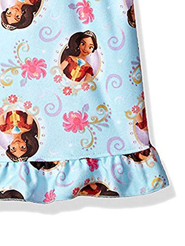 Disney Elena of Avalor Girls Flannel Granny Gown Nightgown (Toddler/Little Kid/Big Kid)