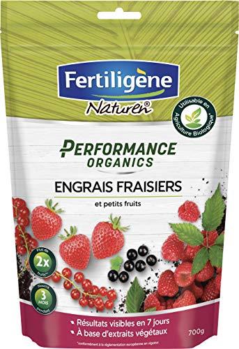 FERTILIGENE - Concime per Fragole e Piccoli Frutti Performance organiche, 700 g