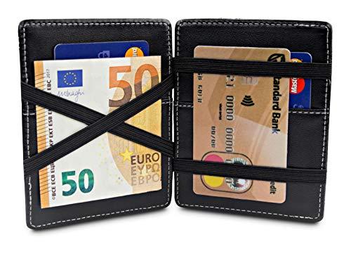 𝟳 𝗥𝗔𝗡𝗨𝗥𝗔𝗦 𝗣𝗔𝗥𝗔 𝗧𝗔𝗥𝗝𝗘𝗧𝗔𝗦 - El estrecho titular de la tarjeta de crédito tiene un total de 7 ranuras para tarjetas (2 en el interior y 5 en el exterior). Además hay un bolsillo para monedas con cremallera. 𝗔𝗠𝗔𝗭𝗜𝗡𝗚 𝗪𝗢𝗪-𝗘𝗙𝗙𝗘𝗖𝗧 - Impresiona a tus amigos c...