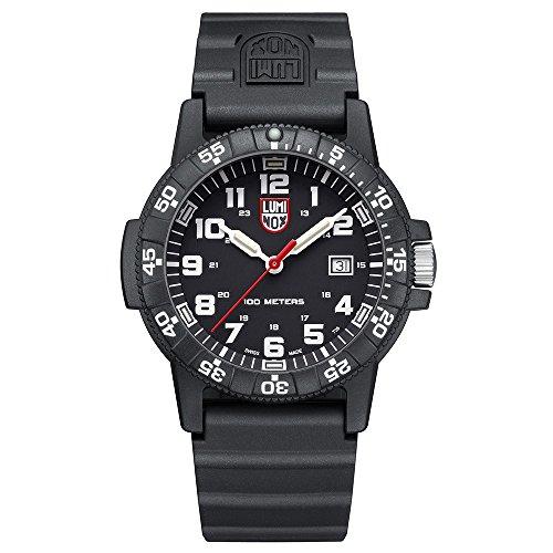 Luminox Herren Datum klassisch Quarz Uhr mit PU Armband XS.0321