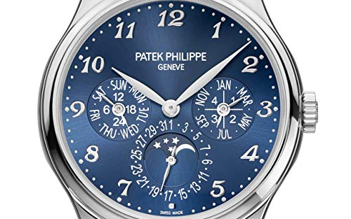 Patek Philippe Grand Complications White Gold 5327G-001 with Royal Blue Sunburst Dial