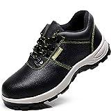 Zapatos de seguridad Masculina antideslizante ligero de protección contra-sensacional anti-perforación resistente al desgaste de seguridad del dedo del pie de acero con aislamiento zapatos con punta d