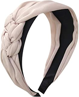 LARNOR Women's Cute Headband Alice Band Top Knot Fashion plain Headband Hairband
