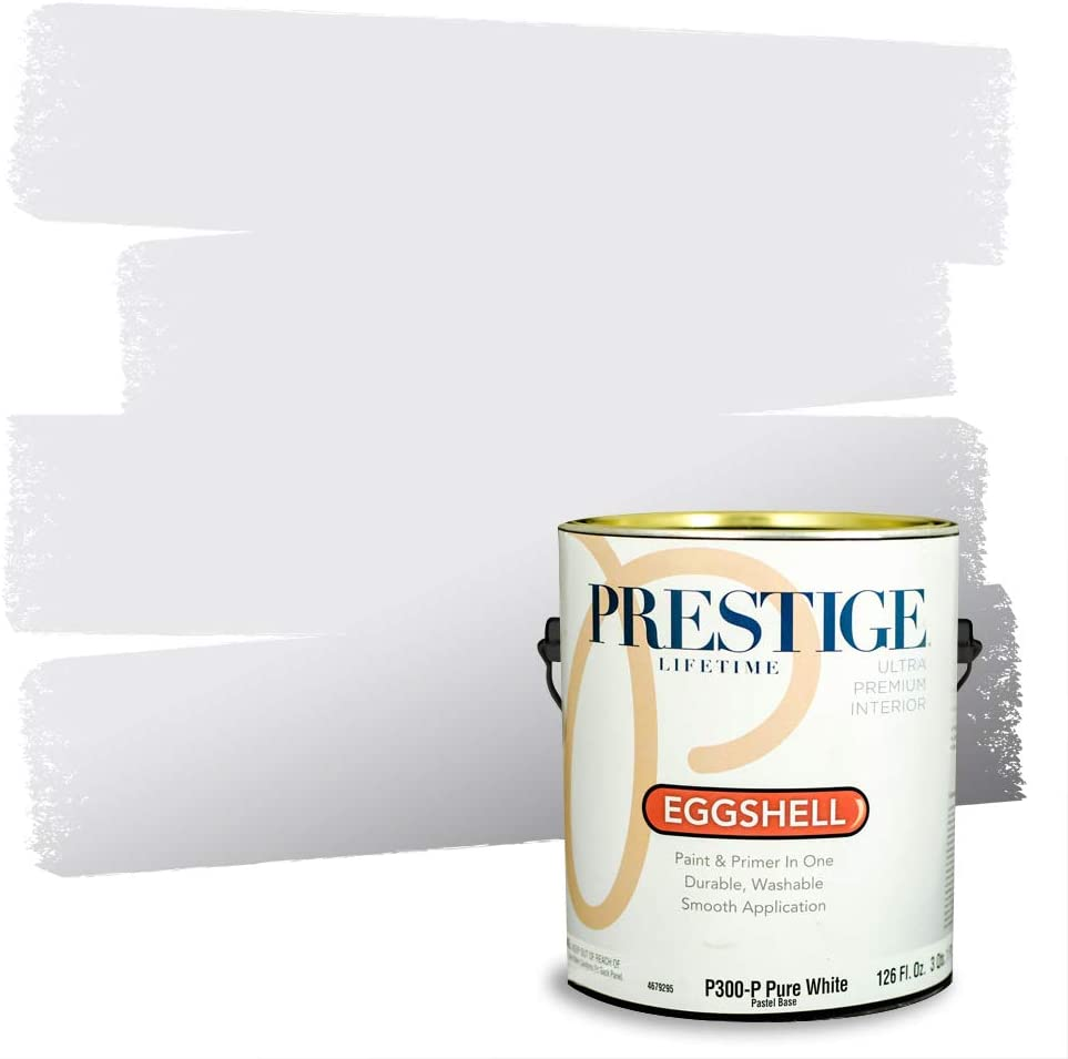 Prestige Interior Max 86% OFF Fixed price for sale Paint and Primer Meadow Breeze in One Eggshe