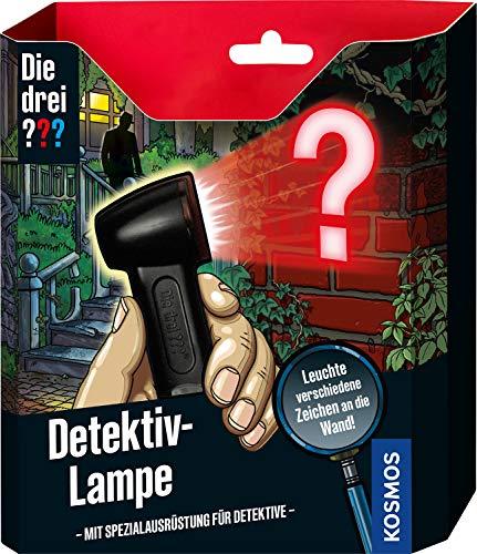 Kosmos 632281 Die drei ??? Detektiv-Lampe, Detektiv Spielzeug Set für Kinder