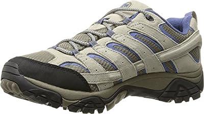 Merrell Women's Moab 2 Vent Hiking Shoe, Aluminum/Marlin, 7.5 M US