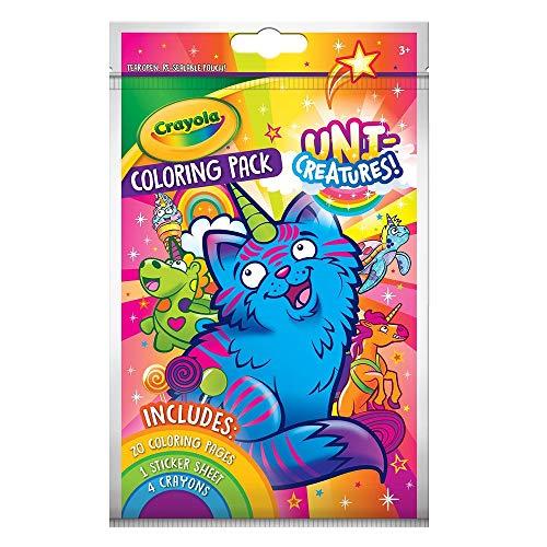 Crayola Uni-Creatures Coloring Pack