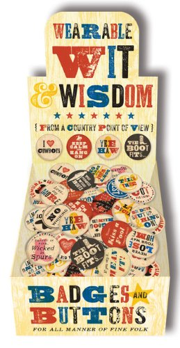 Wearable Wit & Wisdom Buttons
