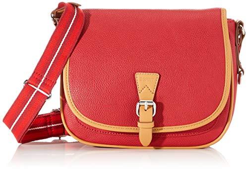 Esprit Accessoires Damen 020EA1O316 Esprit IT-Bag, Rot (Rot 630), 19.5x25.5x7