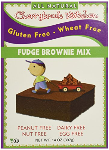 Cherrybrook Kitchen Gluten Free Brownie Fidge Mix, 14 oz