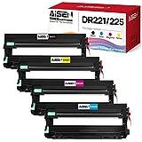 AISEN Compatible Drum Unit Replacement for Brother DR221 DR221CL DR-221CL Drum Unit Used in Brother HL-3140CW HL-3170CDW HL-3180CDW HL-3150CDN MFC-9130CW MFC-9330CDW MFC-9340CDW Printer (4 Pack)