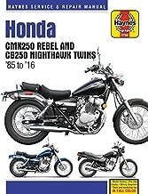 Honda CMX250 Rebel and CB250 Nighthawk, 1985-2016 Haynes Repair Manual (Haynes Powersport)