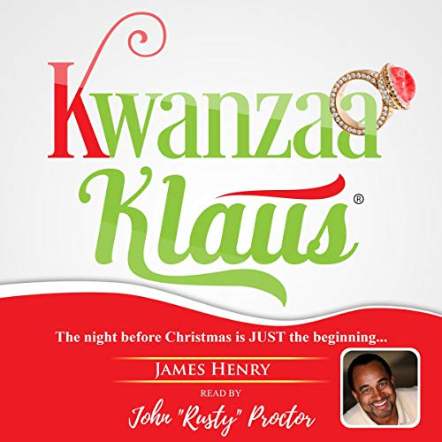 Kwanzaa Klaus audiobook cover art