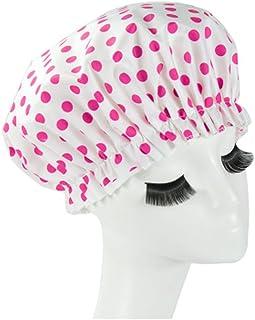 Reusable Waterproof Greaseproof Shower Cap Spa/Bathing Cap Cooking Hat #23