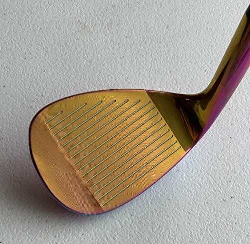 LAZRUS Premium Forged Golf Wedge Set for Men - 52 56 60 Degree Golf Wedges + Milled Face for More Spin - Great Golf Gift (Rainbow, Rainbow 3 Wedges (52,56,60))