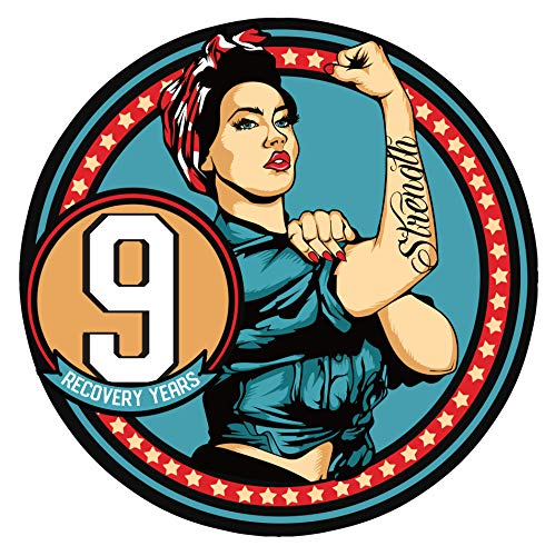 Amazon.com: Women in Recovery AA Medallion Sobriety Chip in Years 1-50 (Year 9): Sports & Outdoors