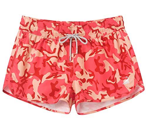 SURF CUZ Women's Quick Dry Athletic Casual Beach Shorts Boardshorts Tankini Bottom