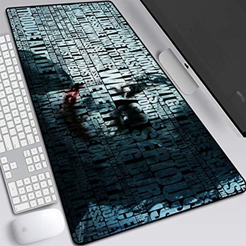 JINYIJUN - Alfombrilla de ratón para Videojuegos, diseño de Diosa de Goblin Slayer y Goblin Killer Mouse Pad Lock de Gran tamaño (800 x 300 x 3 mm, Antideslizante), 19, 800 * 300 * 3mm