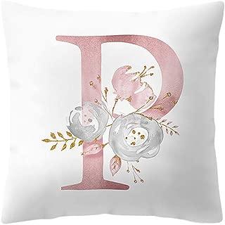 Gotian Christmas Soft Pillow Case - Glitter Cotton Pillow Protectors Covers - Sofa Throw Cushion Cover Square Pillowcase - 45cmx45cm - Easy to WASH - Fashion Home Decorative Pillowcase (P)