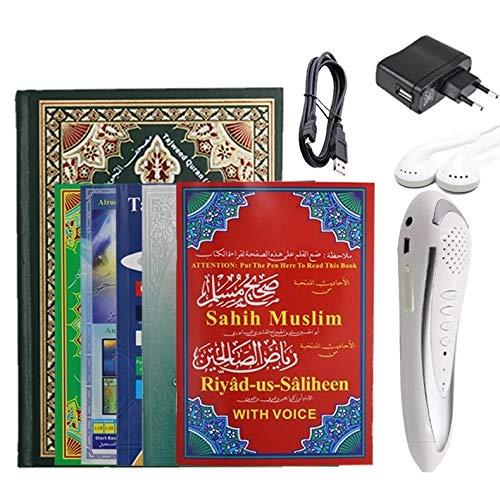 Ramadan Quran Pen Reader Big Size Book Islamic Quran Book Holy Qur'an Reading Pen Muslim Koran Book French English Urdu Spanish Russian Uzbek