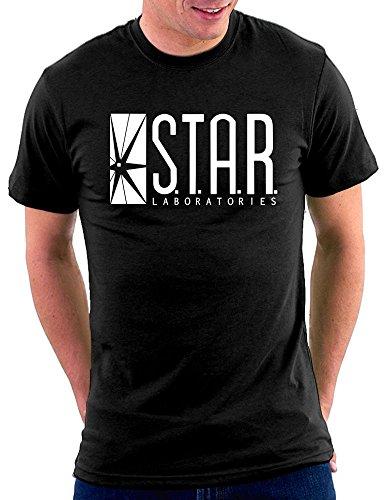 S.T.A.R. Labs T-shirt, Größe M, Black