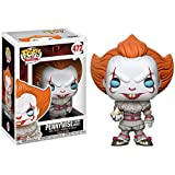 Funko Pop Movie - IT Pennywise with Boat #472 Vinyl 3.75inch Figure Movie Derivatives for Boy...