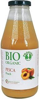 Organic Juice Italian Peach, 500ml, Probios from Italy -- بروبايوس 500 مل نكتار الخوخ مع العنب والتفاح العضوي