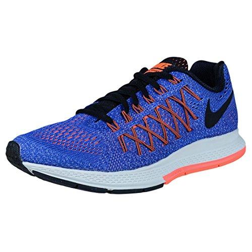 Nike Women's Air Zoom Pegasus 32 Running Shoe (5 B(M) US, Racer Blue/Black-Hyper Orange-Bright Mango)