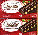 Choceur Dark Chocolate with Roasted Hazelnuts 7.05 oz (Pack of 2)