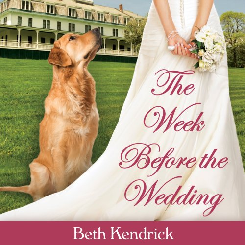 The Week Before the Wedding audiobook cover art