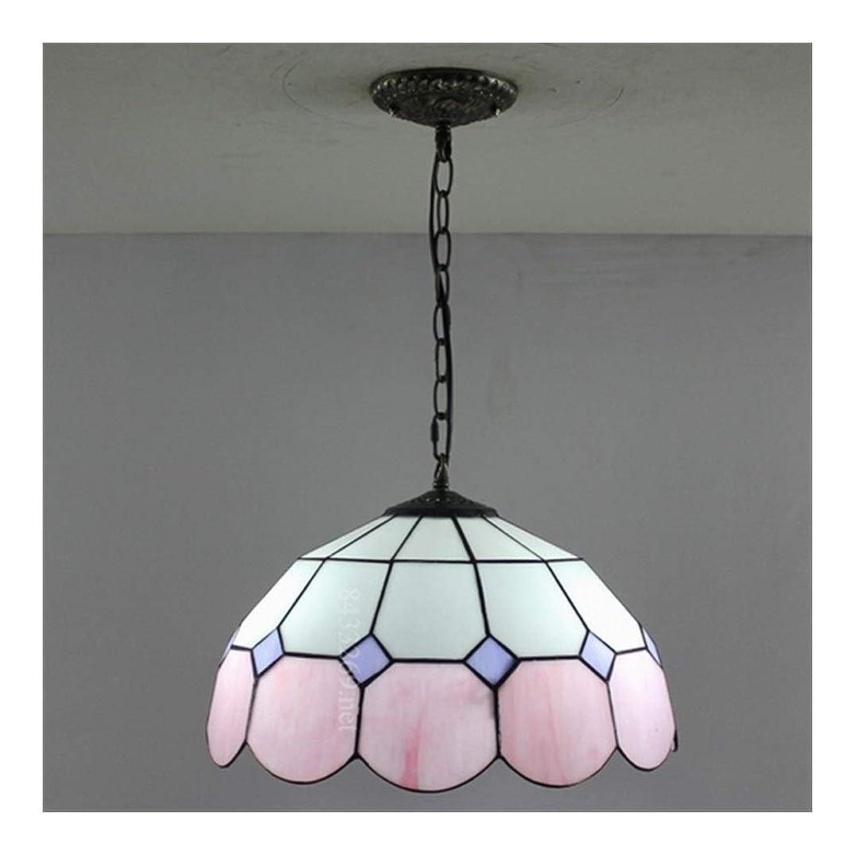 家族のための着色されたガラス設計の16インチの手作りのティファニーシャンデリアランプ