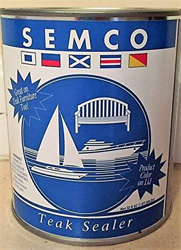 Semco Teak Sealer, 1 Gallon, Cleartone