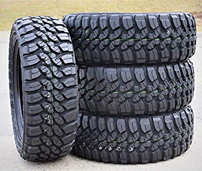 Set of 4 (FOUR) Forceum M/T 08 Plus Mud-Terrain Radial Tires-LT235/75R15 104/101Q LRC 6-Ply