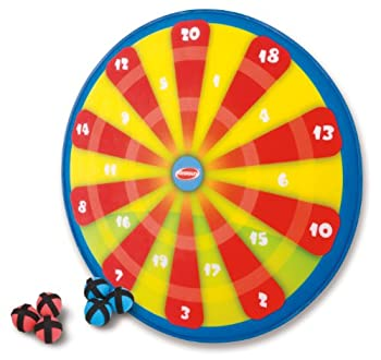 Diggin PopOut Darts Kids Hook-and-Loop Ball Target Game