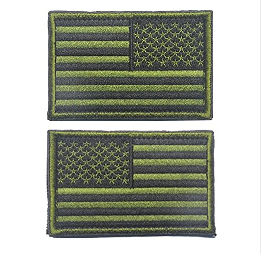 Easyinsmile American Flag Patch US Flag Embroidery Armband Patch 3