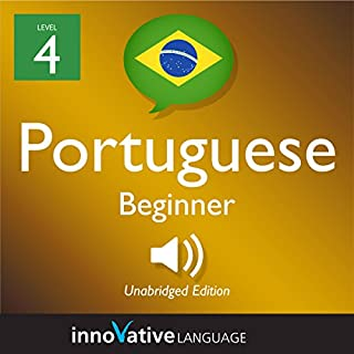 Learn Portuguese - Level 7: Intermediate Portuguese: Volume 1: Lessons 1-25                   By:                                                                                                                                 Innovative Language Learning LLC                               Narrated by:                                                                                                                                 PortuguesePod101.com                      Length: 5 hrs and 57 mins     Not rated yet     Overall 0.0