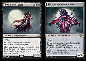 Magic The Gathering - Voldaren Pariah // Abolisher of Bloodlines  111/205  - Eldritch Moon