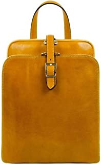 Time Resistance Mens Clarissa Backpack - Yellow