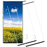 [2 Piezas] Cristal Templado para Samsung Note 10 Plus,[9H Dureza] [HD Film] [Resistente a rayones] [Fácil de Instalar],Protector de Pantalla Samsung Note 10 Plus
